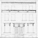 Elevation of 16-17 Woodstock Road, Poplar, 1854